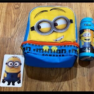 Minions Dual Compartment Lunch Bag and Sippy Cup